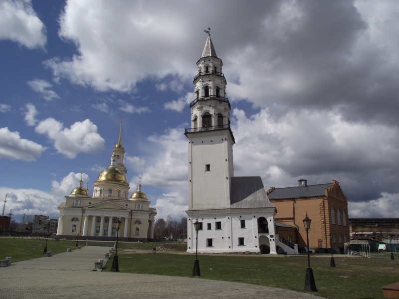 Поддержи Невьянскую башню в конкурсе Россия 10!