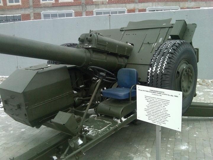 Музей военной техники в Верхней Пышме