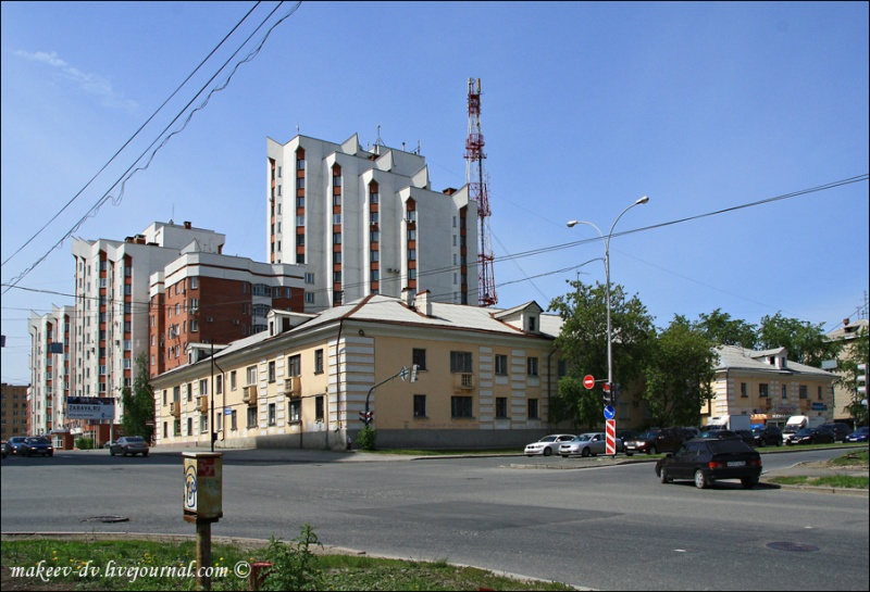 По окраинам дореволюционного города. Московская.