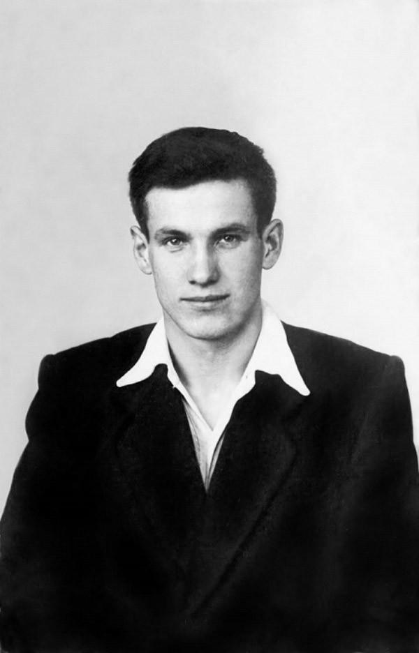 Ельцин в 1955 году