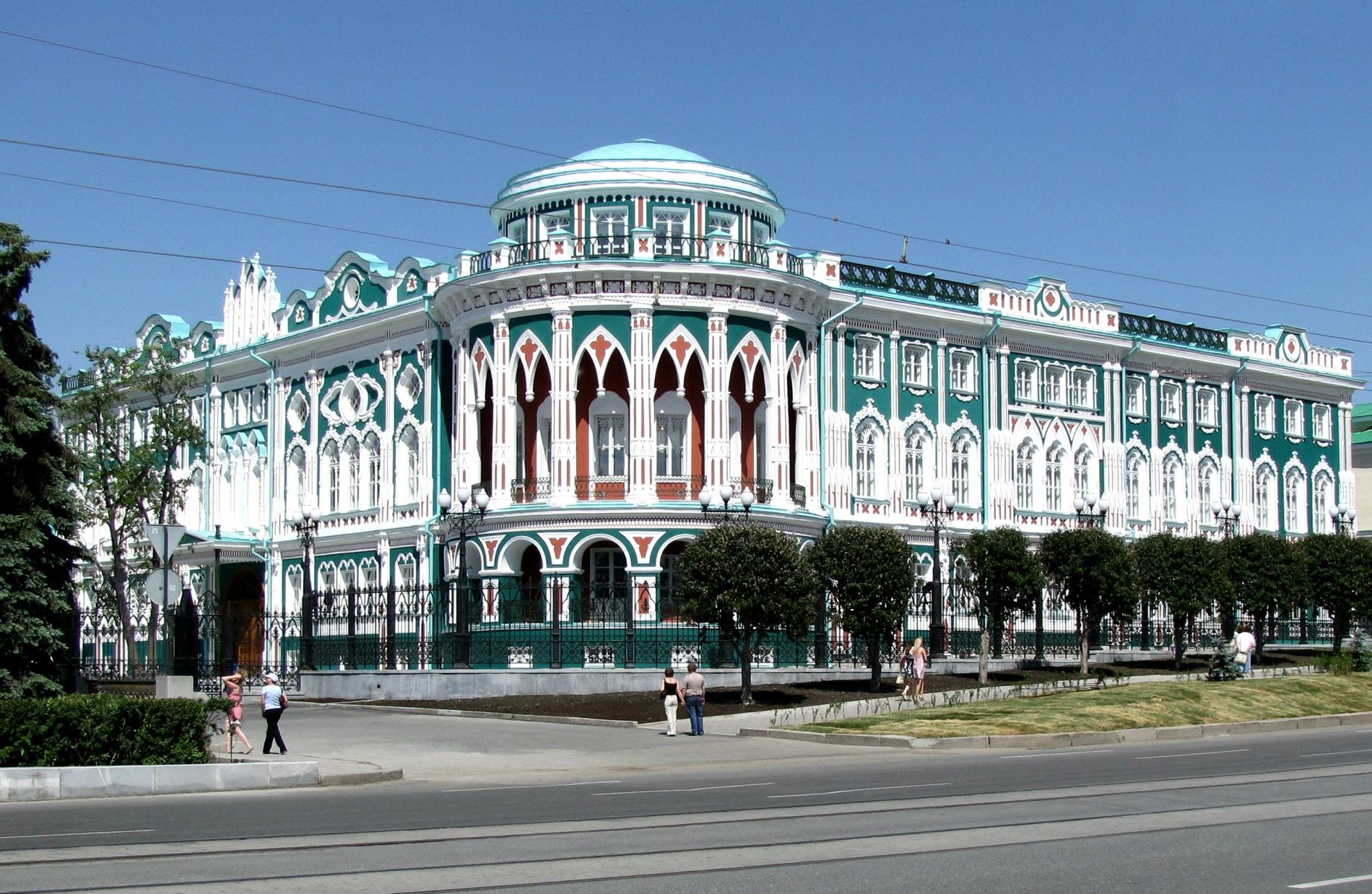 Дом Севастьянова построен в первой четверти XIX века