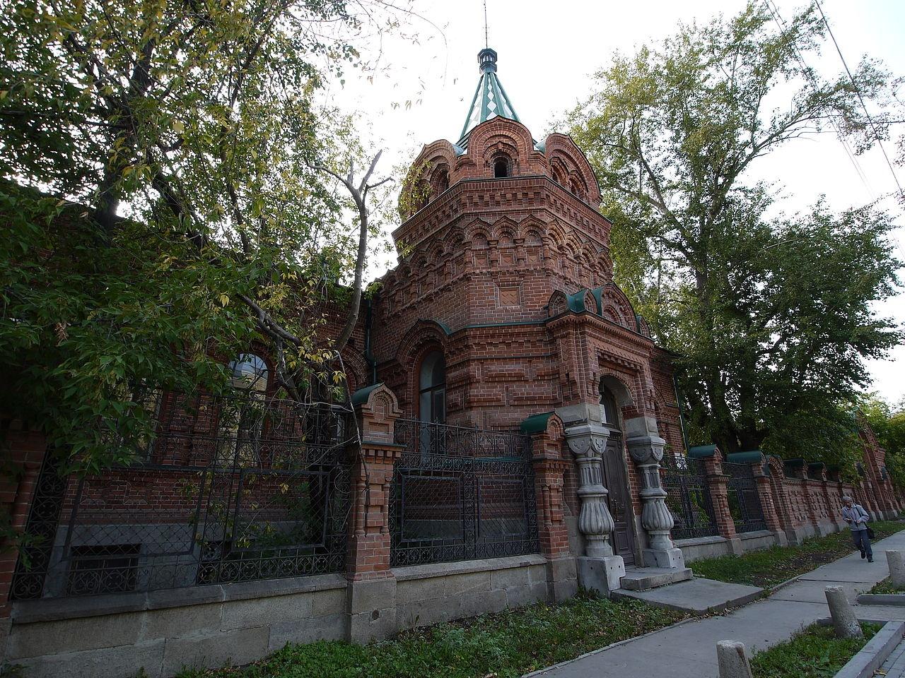 Годы постройки усадьбы Железнова - 1892-95