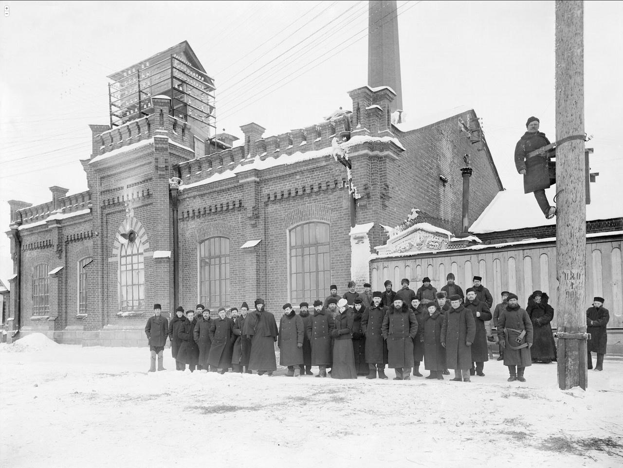 Первая электростанция Екатеринбурга