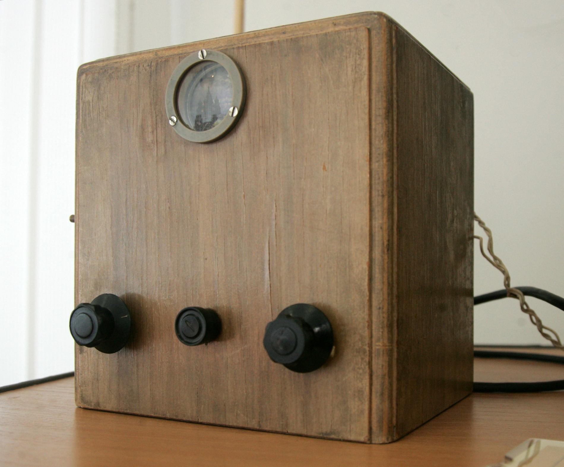 Механический телевизор Б-2, 30-е годы XX века