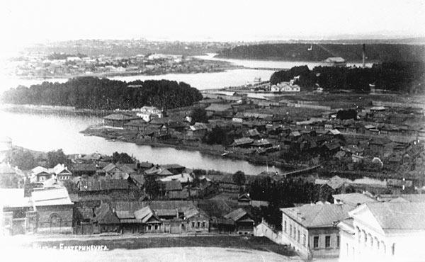 Река Мельковка и район Мельковская слобода