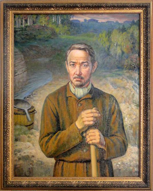 Портрет Льва Брусницына, автор Григорий Нечеухин