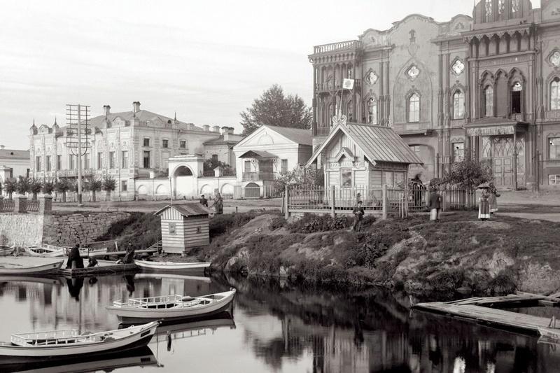 Городской пруд, Тарасовская набережная. Фото В. Метенкова, museum.ru