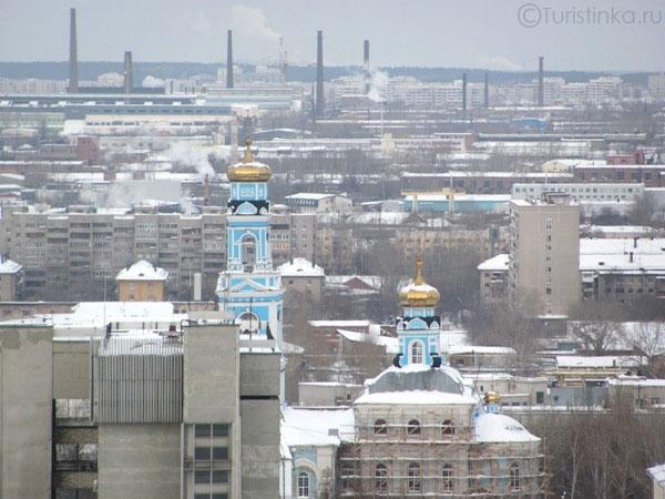Поездка в Екатеринбург в январе 2011 года