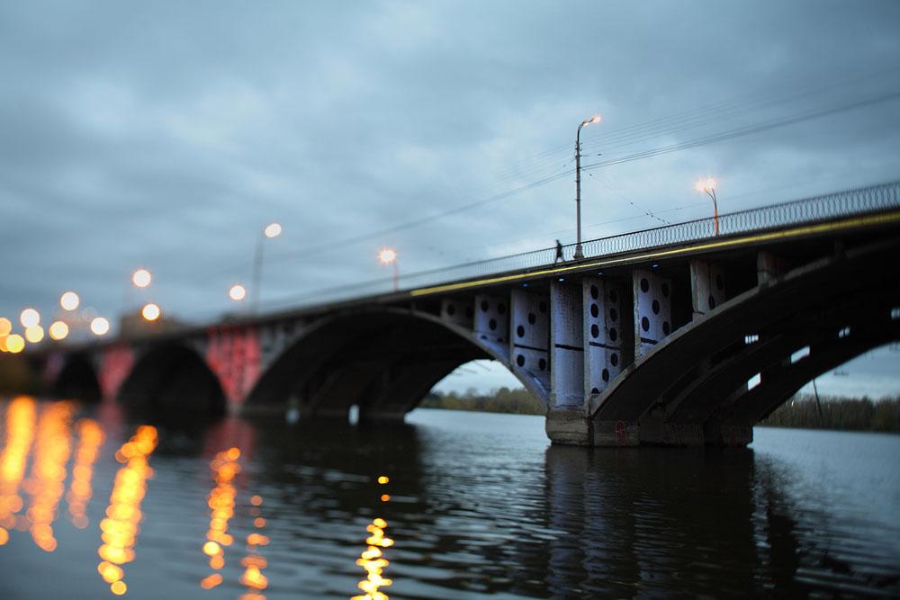 Макаровский мост.