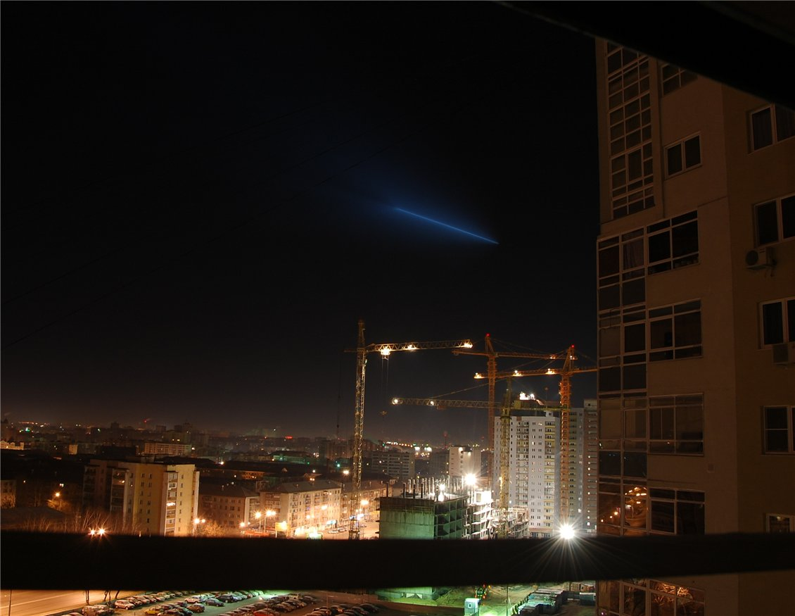 26 фев 2011 ожидается пролет над городом ракетоносителя Союз-2.1Б