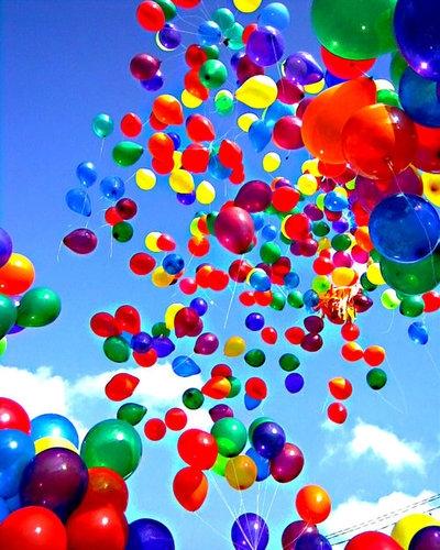 1000 воздушных шаров с желаниями
