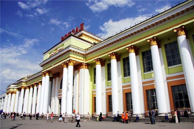 Потолочная роспись Екатеринбургского вокзала