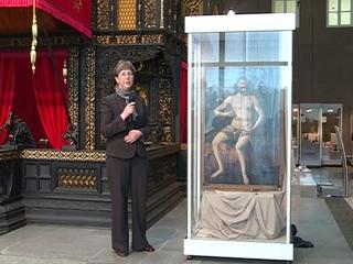 В музее изобразительных искусств прошла презентация отреставрированного шедевра Марко Базаити