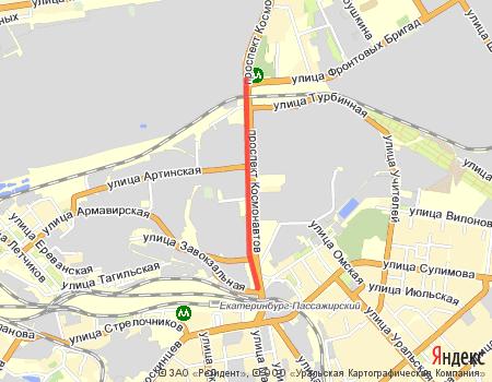Екатеринбург с севера на юг. II.