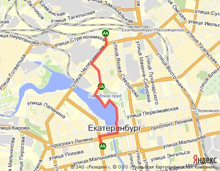 Екатеринбург с севера на юг. III.