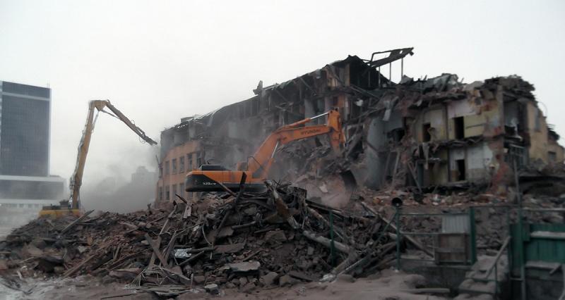 Заброшенная военная часть в центре Екатеринбурга