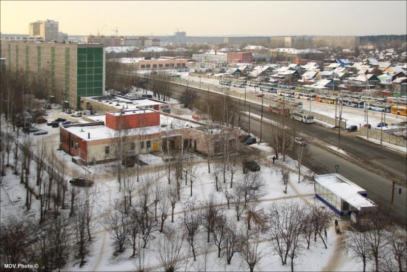 Северная окраина Екатеринбурга