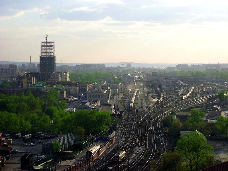 Екатеринбургский железнодорожный вокзал