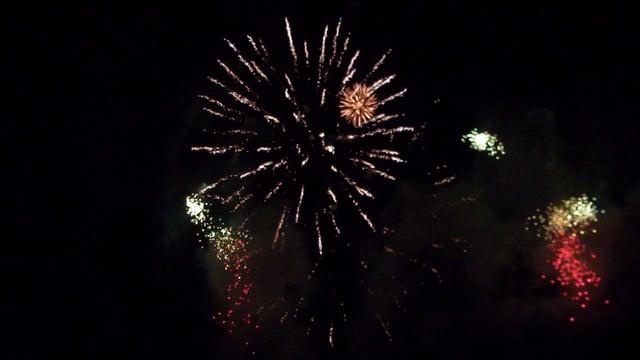 Фестиваль фейерверков в Березовском. Как это было.