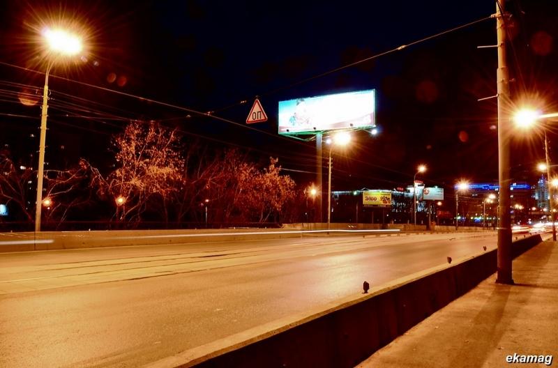 Новый дорожный знак на Макаровском мосту