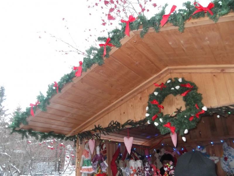 Немецкая рождественская ярмарка в Литературном квартале.
