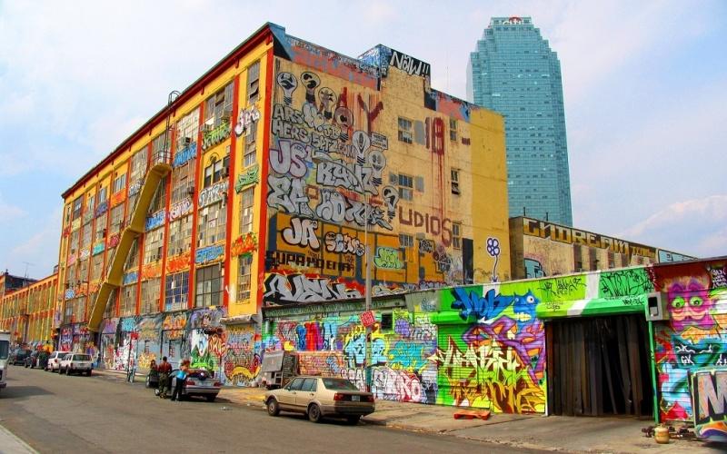 Новое в уличном искусстве