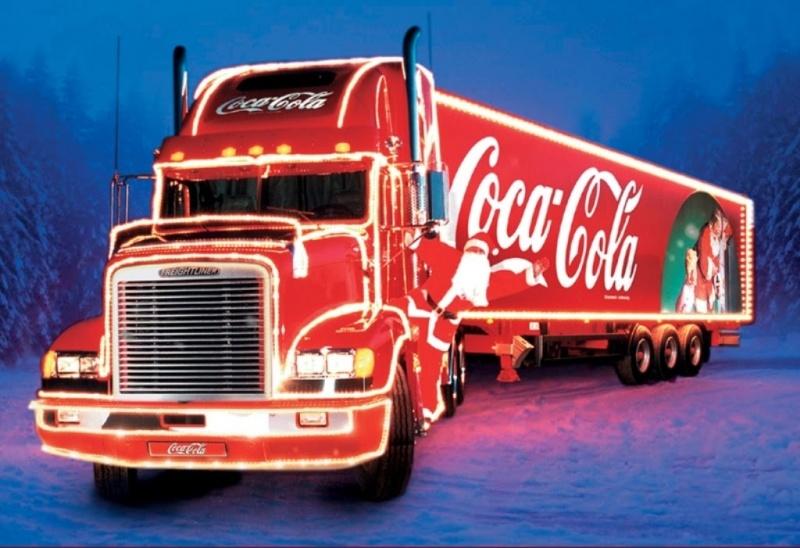 Караван Coca-cola в Екатеринбурге