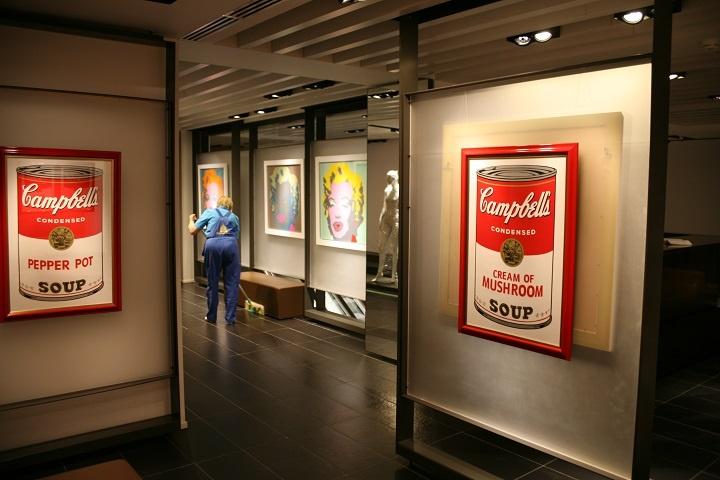 Выставка подлинников Энди Уорхола