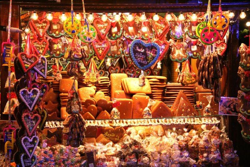 Европейская рождественская ярмарка в Литературном квартале