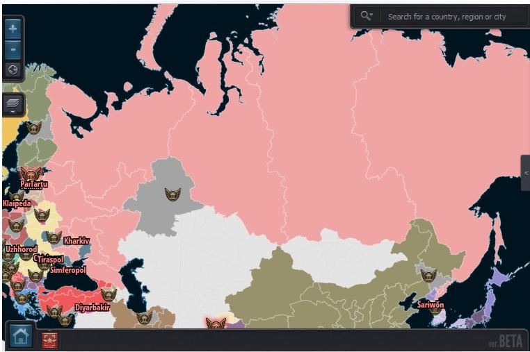 Екатеринбург - столица России по версии eRepublik