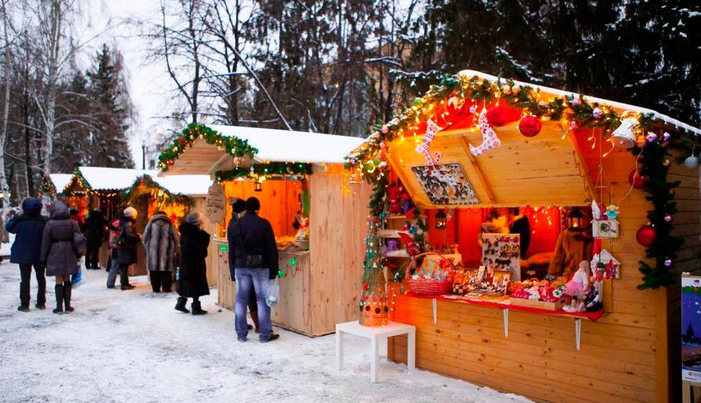 Европейское рождество в Литературном квартале 2016