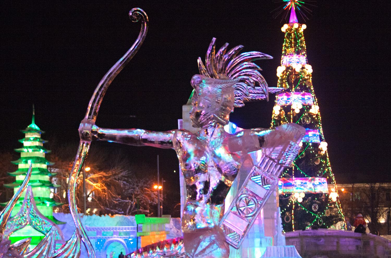 Ледовые городки в Екатеринбурге 2017