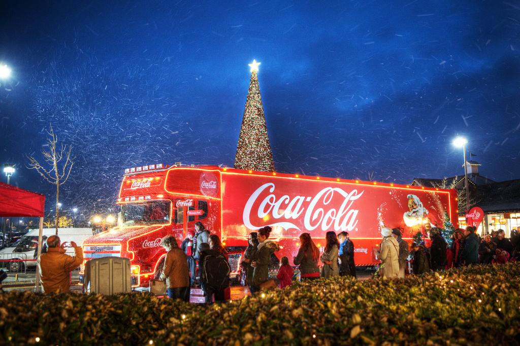 Караван Coca Cola в Екатеринбурге 2016