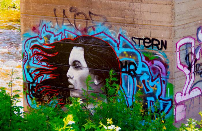 Огромная подборка разного граффити