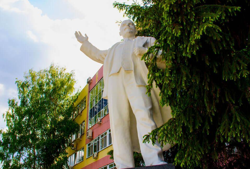 Все памятники Ленину в Екатеринбурге