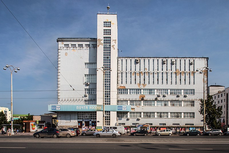 General Post Office, by Konstantin Solomonov and Veniamin Sokolov 