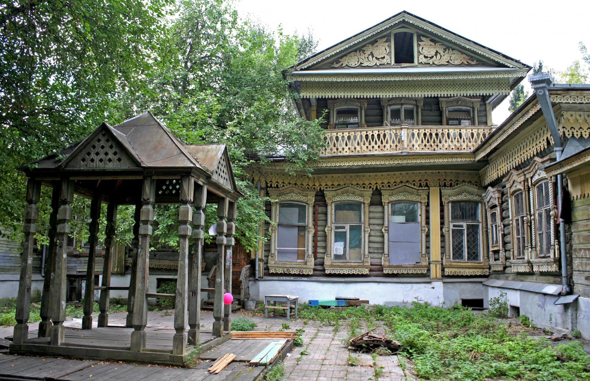 старинные деревянные усадьбы россии фото грибковые