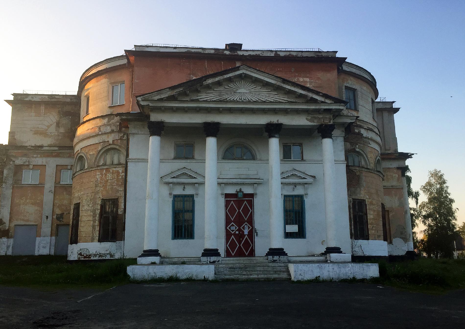 Свято-Троицкая церковь в посёлке Билимбай