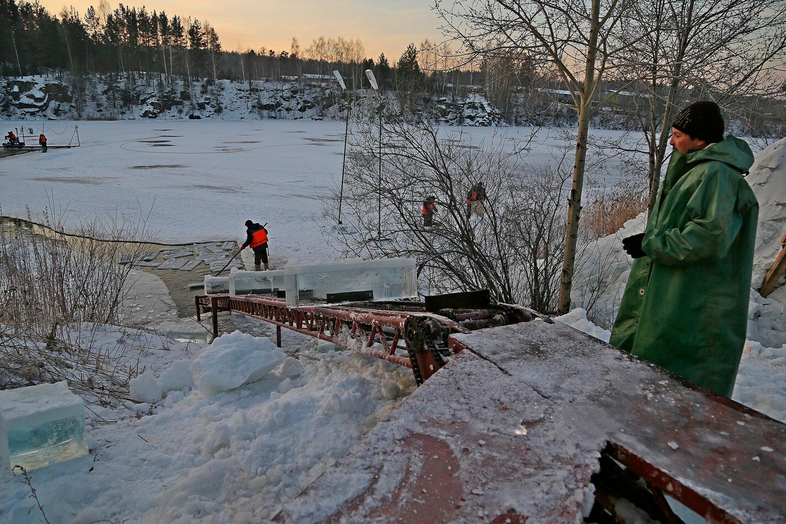 Карьер в посёлке Северка. Фото: ekburg.tv