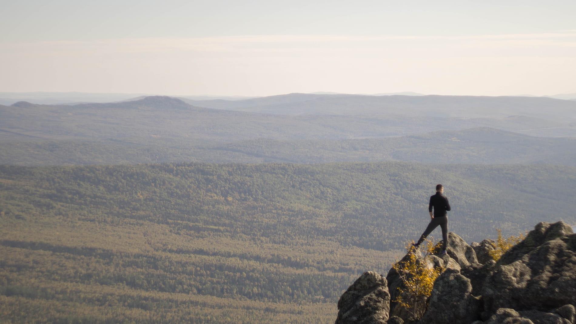 Вид с горы Двуглавая Сопка