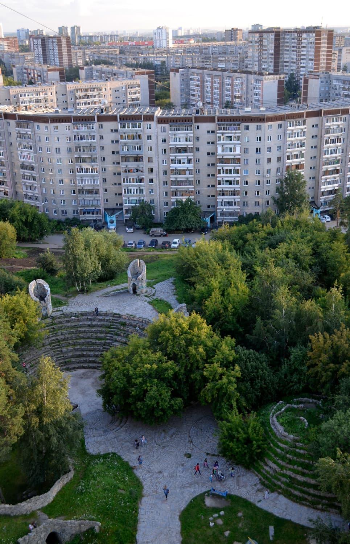 Амфитеатр — одна из достопримечательностей МЖК. Фото Митрохиной Марины