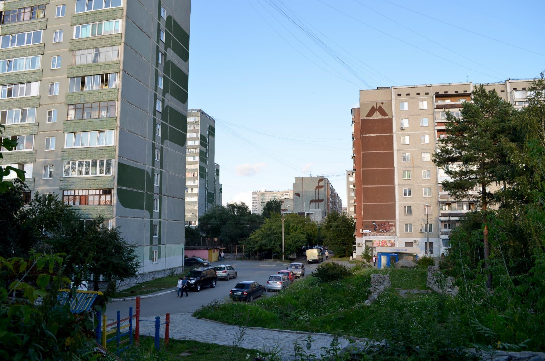 Обычный двор МЖК. Фото Митрохиной Марины