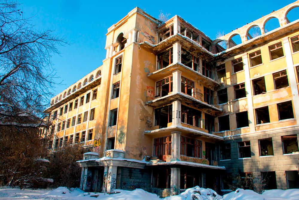 Заброшенная больница в Екатеринбурге — Зелёная роща