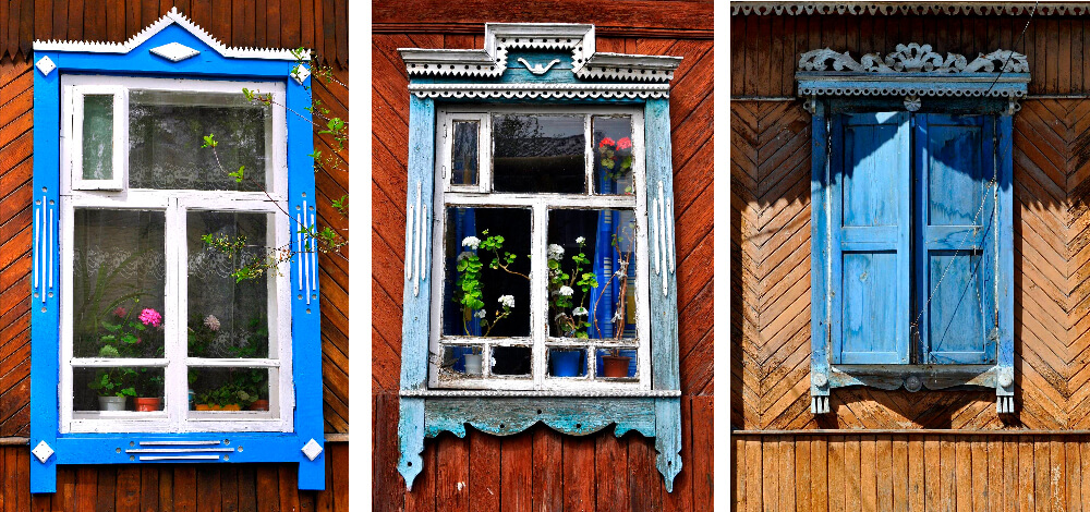 Окна старого Екатеринбурга