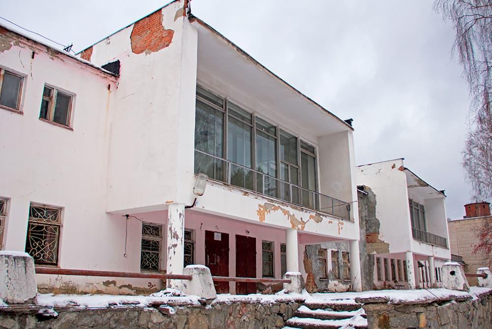 Свердловский детский тубсанаторий и лесная школа