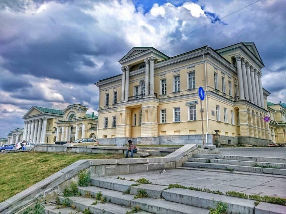 Самые странные здания Екатеринбурга