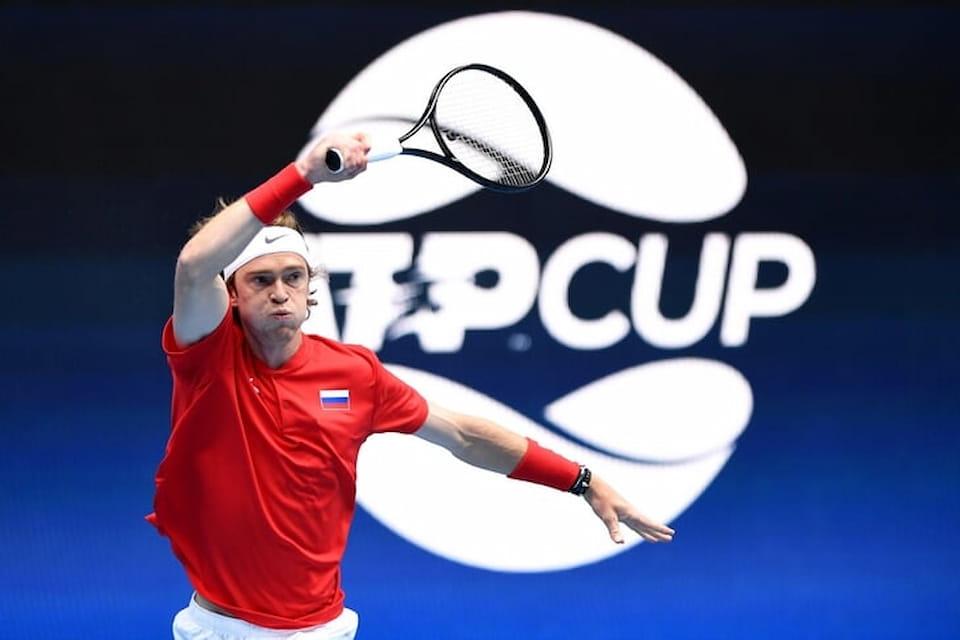 Даниил Медведев и Андрей Рублев стартовали с побед на командном ATP Cup в Австралии